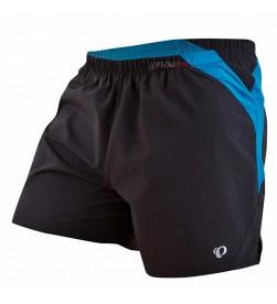 Pantalon Corto Pearl Izumi Shorts Running Negro Azul