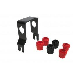 Adaptador Peruzzo para portabicicletas para usar horquillas con ejes 15mm y 20mm