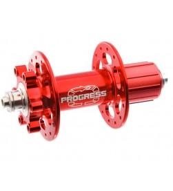 Buje MTB Trasero Progress Turbine Disc Rojo