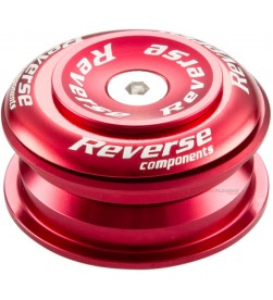 "Dirección Reverse Twister 1-1/8"" Semi-Integrada Rojo"