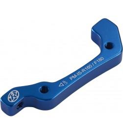 Adaptador de freno Reverse IS-PM Delantero 180mm o Trasero 160mm Azul Oscuro