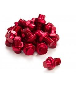 Pack Reverse 16 pins de aluminio para pedal Escape Reverse Rojo