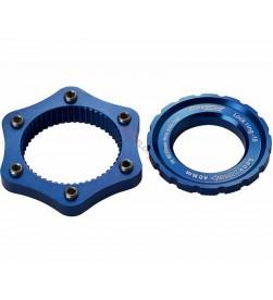 Adaptador Center Lock a 6 Tornillos Reverse Azul oscuro