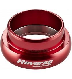 """Cazoleta Inferior Dirección Reverse Twister 1-1/8"""" Rojo"""