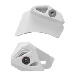 Kit de guía superior y inferior para guiacadenas Reverse X1 Blanco