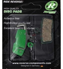 Pastillas de freno Reverse Orgánicas para Avid Trail E7/E9/X0 / Sram Guide
