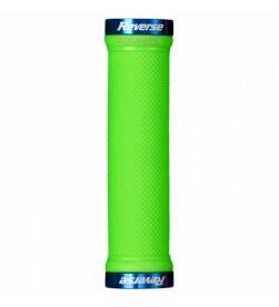 Puños Reverse Lock-On Verde Manzana / Azul 29mm