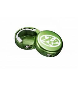 Tapas Reverse Lock-on cierre de puño Verde Claro