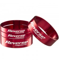 "Kit Espaciadores Ultra-Light Reverse 1 1/8"" Rojo"