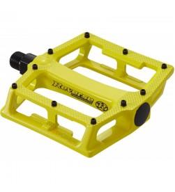 Pedales Plataforma Reverse Super Shape 3-D Amarillo