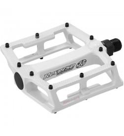 Pedales Plataforma Reverse Super Shape 3-D Blanco