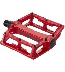 Pedales Plataforma Reverse Super Shape 3-D Rojo