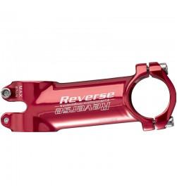 Potencia Reverse XC  90mm 31,8  6º Rojo