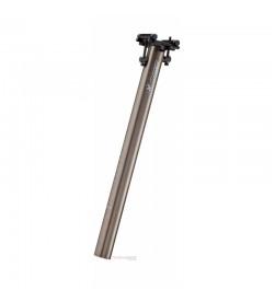 Tija de sillín Reverse Comp Lite  31.6 400mm Gris