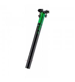 Tija de sillín Reverse Style Lite 31.6 400mm Negro/Verde