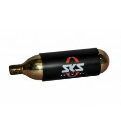 Bombona Cartucho Repuesto Comprimido cO2 SKS 16g roscada