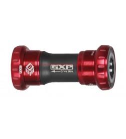 Eje Pedalier Sram GXP roscado Rodamientos ceramicos Rojo 68/73mm