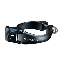 Abrazadera Desviador Soldar Shimano FD-9150 31.8mm Negro