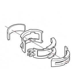 Adaptador abrazadera 28.6mm para desviador Shimano FD-M410 y compatibles