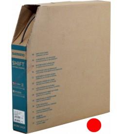 Caja Rollo Funda Cable Cambio Shimano OT-SP41 Rojo 50m