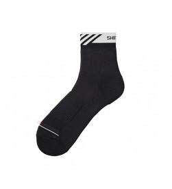 Calcetines medios Shimano Performance Negro/Blanco