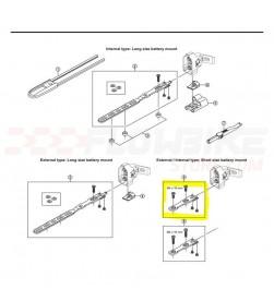 Soporte Bateria Shimano SM-BMR1 Di2 (Corto)