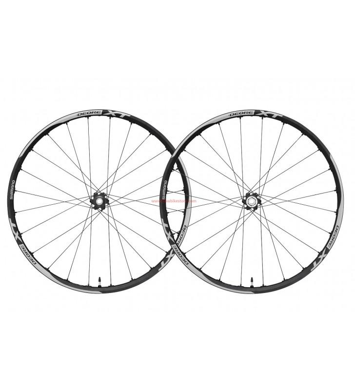 "Shimano Deore XT wh-m785 disc 27.5/"" MTB ruedas 27.5/"" Black Grey"