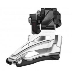 Desviador Shimano Deore 2x10v FD-M6025 Abraz. Alta -Down Swin -Dual Pull