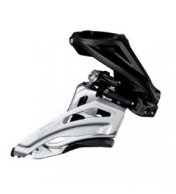 Desviador Shimano Deore 2x10v FD-M617 Abraz. Alta Tiro Superior Side Swing
