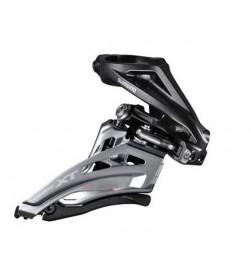 Desviador Shimano Deore XT 2x11v Abrazadera Alta Negro FD-M8020