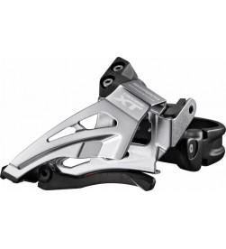 Desviador Shimano Deore XT 2x11v Abrazadera Alta Dual Pull Negro FD-M8025