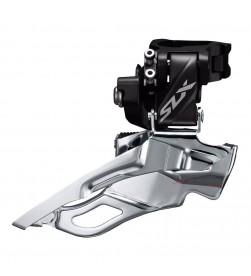 Desviador Shimano SLX 2x11v Abrazadera Alta Negro FD-M7025