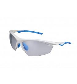 Gafas Shimano EQUINOX2 Fotocromaticas + lentes Blanco/Azul