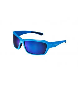 Gafas Shimano S22X Azul Brillante Lente Efecto Espejo Ahumado Azul