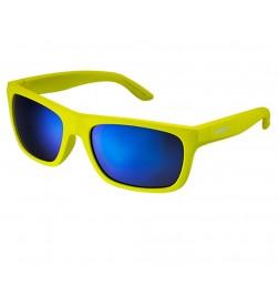 Gafas Shimano S23X Amarillo Fluorescente Mate Lente Azul