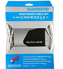 Kit Fundas y Cables de Freno Shimano Dura Ace BC-9000 Blanco