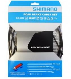 Kit Fundas y Cables de Freno Shimano Dura Ace BC-9000 Negro