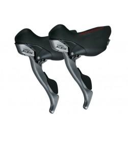Pareja Mandos Palancas Carretera Shimano 105 2x10v Negro ST-5700