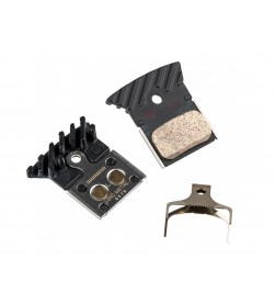 Pastillas Freno disco Metalicas Refrigeradas Shimano L04C para RS505 / RS805