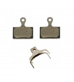 Pastillas freno disco carretera Organicas Shimano K03S para RS305/RS405/RS505/RS805/R7070/R8070/R9170/U5000