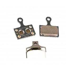 Pastillas freno disco carretera Metalicas Shimano K04S para RS305/RS405/RS505/RS805/R7070/R8070/R9170/U5000