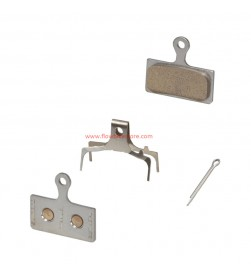 Pastillas Freno Metalicas Shimano M9000-M8000-M985-M785-M666-S700 G03Ti/G04Ti Titanio