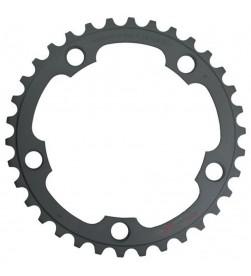 Plato Shimano 105 5750 50dientes 2x10v bcd110 5 brazos Negro (compatible FC-6750)