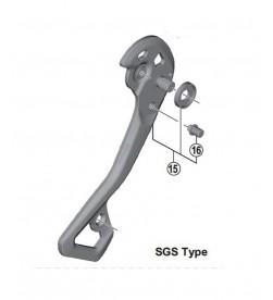 Portapoleas Exterior Shimano Cambio XTR DI2 M9050 SGS