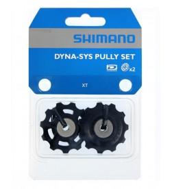 Ruleta/Rulina/Roldana/Polea cambio Shimano XT/Ultegra c/rodamientos sellados 11d.