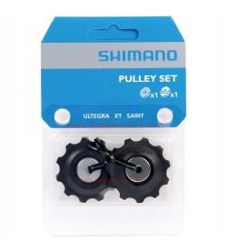 Ruleta/Rulina/Roldana/Polea cambio Shimano c/1 rodamiento ceramico Ultegra/105/XT/ Saint