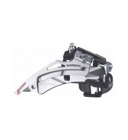 Desviador Shimano Tourney TY700 abrazadera baja multi, doble tiro, 6/7/8v, 42d