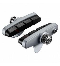 Zapatas de freno Shimano R55C4 BR-5800/9000 Completas Plata