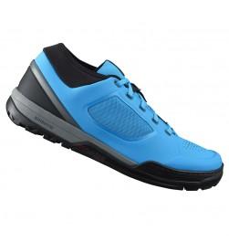 Zapatillas plataforma Shimano GR7 Azul/Negro