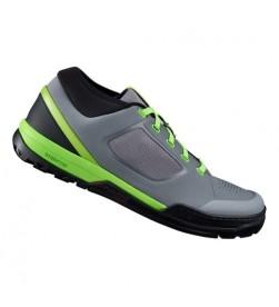Zapatillas plataforma Shimano GR7 Gris/Verde